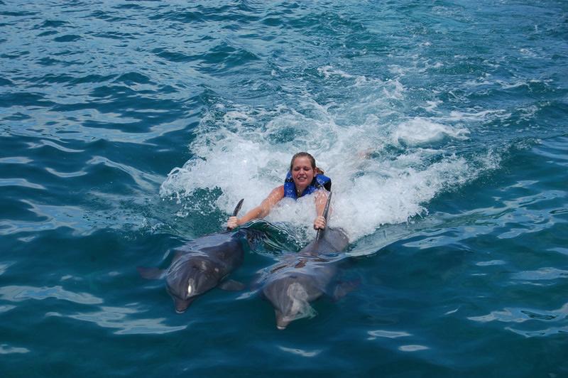 man dating dolphin