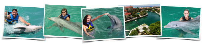 Dolphin Swim Adventure in Dreams Puerto Aventuras