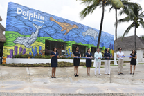 "DOLPHIN DISCOVERY COZUMEL PRESENTS ITS MURAL: ""OCEAN OF LOVE"""