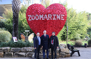 "ZOOMARINE WAS HOST TO INTERNATIONAL FORUM ""LIFE IS NEGOTIATING"" A FOCUS IN BUSINESS WORLD."