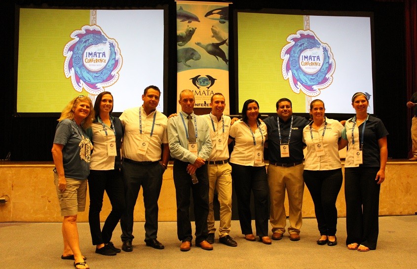 DOLPHIN DISCOVERY AWARD WINNER AT THE 45th IMATA CONFERENCE RIVIERA MAYA 2017
