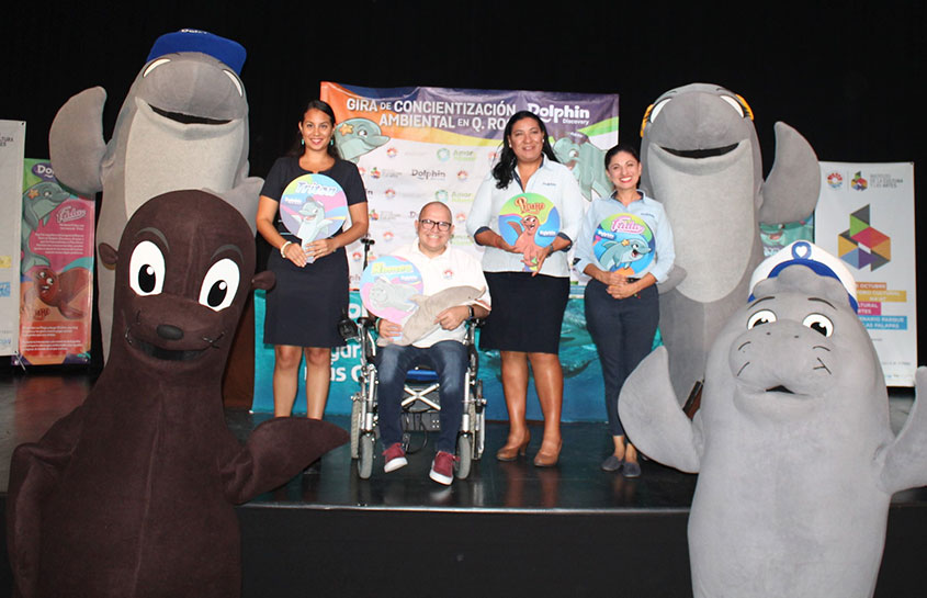 'TO LOVE IS TO EDUCATE', GRUPO DOLPHIN'S ENVIRONMENTAL AWARENESS PROGRAM BEGINS IN QUINTANA ROO