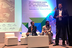 GRUPO DOLPHIN PARTICIPATES IN THE 1st IAAPA CONGRESS FOR THE ENTERTAINMENT INDUSTRY